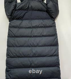 Nike Sportswear Down Fill Hooded Puffer Parka Magnetic Coat Jacket Small Blue