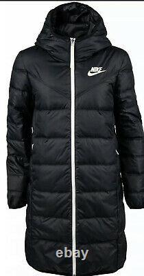 Nike Sportswear Long Down Fill Windrunner Coat Jacket Medium M CU0284 010