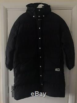 North Face Black Sierra Down Filled Puffer Coat Long Size L