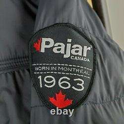 PAJAR Size XL Mens Hooded Nylon Poly Insulated Quilted Winter Jacket Coat Canada