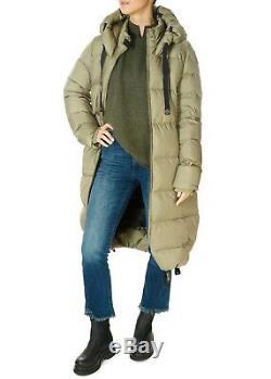 PARAJUMPER' Panda' Dried Herb Khaki Long Puffer Coat RRP £570 SIZE XL NWTS