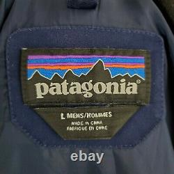 PATAGONIA Large Tres Parka $599 Mens 3 in 1 H2NO w Zip in Down Quilted Jacket
