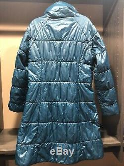 PATAGONIA Long Parka Quilted Winter Jacket Coat Dark Green Womens Size L