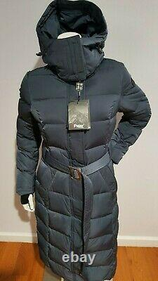 Pajar CANADA AINSLIE QUILTED PUFFER LONG DOWN 550 FILL POWER WOMEN'S COAT SIZE M
