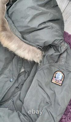 Parajumper Womans Long Grey Coat Medium