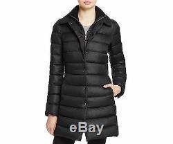 Peuterey Colosseum Long Down Women's Coat Black NWT MSRP $675