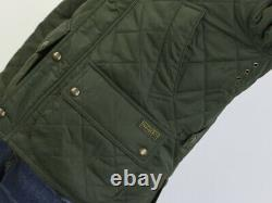 Polo Ralph Lauren Cadwell Quilted Hunting Jacket Coat Olive
