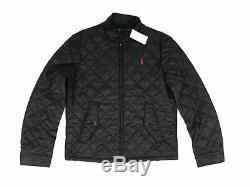 Polo Ralph Lauren Mens New Navy Black Green Quilted Barracuda Jacket Coat