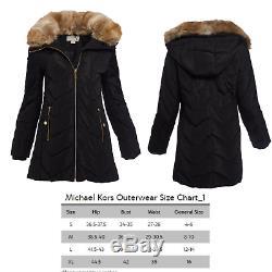 Puffer Jacket Coat Womens Winter Black Warm Down Women Hooded Fur Long Quilted