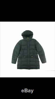 Ralph Lauren Black Down Long Sleeve Puffer Coat Size M