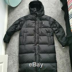 Ralph Lauren Polo Quilted Long Down Fill Coat Jacket Parka Black -Medium