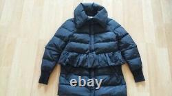 Rare Moncler Bettine Giubbotto Black Down Long/short Puffer Jacket Coat Size 1, S
