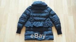 Rare Moncler Bettine Giubbotto Black Down Long/short Puffer Jacket Coat Size 1, S