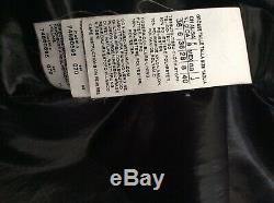 SportMax Code By Max Mara £750 Down Filled Coat Size 8 Fur Hood Trim VGC