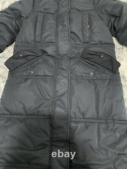 Superdry Womens Microfibre Duvet Quilted Coat / NavySize S/UK10/EU38
