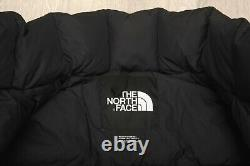 THE NORTH FACE LHOTSE DUSTER DOWN insulated NUPTSE PUFFER BLACK COAT M L