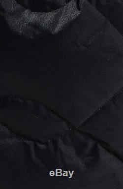 THE NORTH FACE'Metrolina' Long Down Parka Fur Trim Hood Coat Jacket Black XL