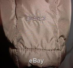THE NORTH FACE Metropolis 550 Down Long Quilted Coat Parka Ink green (taupe) L