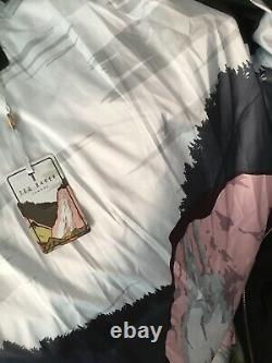 Ted Baker BREIY Collared Long Padded Coat BNWTS SZ 3 Uk 12 Black £299