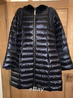 Ted Baker Yandle Coat Long Down Coat With Hood RRP£279 Size 3 UK 12 Worn Twice