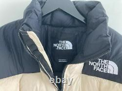 The North Face Lhotse Duster Long Puffer Jacket Coat Womens Beige Size Medium M