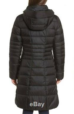 The North Face Metropolis 550 Down Long Quilted Coat Parka Black Size Medium M