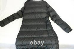 The North Face Metropolis III Down Long Quilted Coat Parka Black Size XS