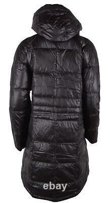 The North Face TNF Women's Black ACROPOLIS Goose Down Parka Puffer Coat S