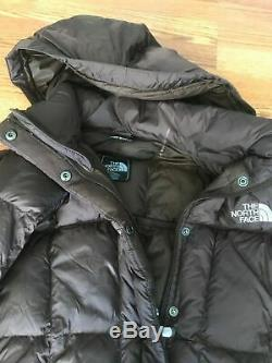 The North Face Triple C Long Down Coat 700 Parka Brown Medium