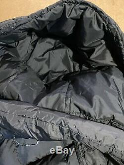The North Face Womens 600 Hooded Long Jacket Winter Coat Black Large