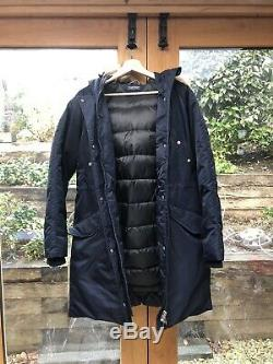 Tommy Hilfiger Ladies Long Down Coat Small S Excellent Condition