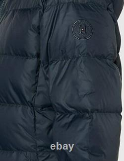 Tommy Hilfiger New Tyra Maxi Down Coat In Navy Uk L Rrp£260 (ww0ww25749cjm)