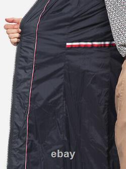Tommy Hilfiger New Tyra Maxi Down Coat In Navy Uk M Rrp£260 (ww0ww25749cjm)