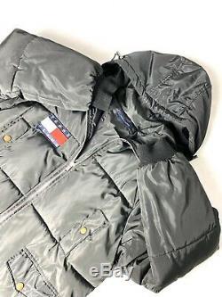 Tommy Hilfiger Puffer Coat Womens Jacket Vintage Size Large 95SK23