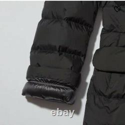UNIQLO JIL SANDER L Ultra Light Down Women's Hooded Coat Black