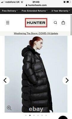 UPDATED Photos Hunter Original Long Puffer Coat Black SOLD OUT SIZE S