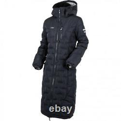Uhip Ice Coat Long Ladies Womens Riding Padded Quilted Yard Jacket Size 38 UK 10