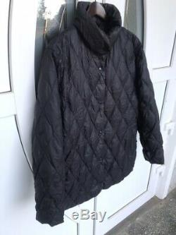 Vintage Moncler Brown Down Quilted Long Coat Jacket 3