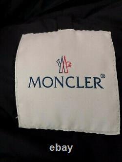 Vintage Moncler M Long Down Coat Designer Luxury Snow Ski Puffer Quilted