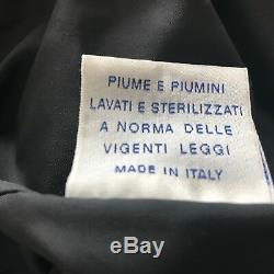 Vtg 1997 Helmut Lang Feather Fill Long Quilt Puffer Parka Duvet Coat IT50 UK40