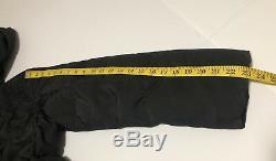 Weekend Max Mara Black Long Lightweight Down Coat Removable Hood Size US 6 IT 40