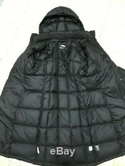 Women The North Face 550 Winter Long Down Quilted Coat Parka Size M