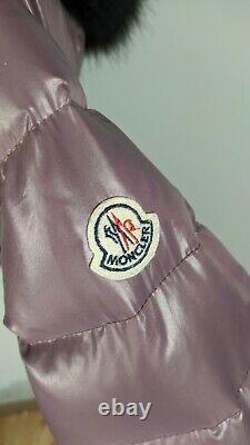 Women's MONCLER Genevrier Cappuccio Puffer Down Coat/Jacket M-L