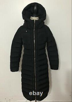 Women's MONCLER Imin Long Quilted Puffer Coat, Size 1, Small, Black