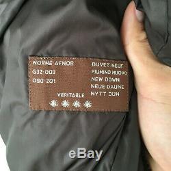 Women's Moncler Brown Puffer Down Coat Long Jacket Sz 1