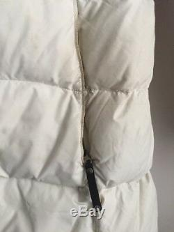 Women's Mountain Hardwear Downtown White Down Filled Puffer Puffy Long Coat M