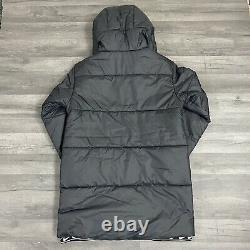 Womens Nike Synthetic Fill Black Long Jacket Parka Coat Size Small Cv8670 010