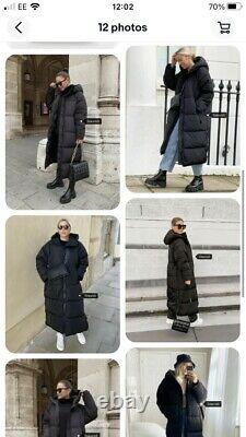 ZARA long puffer coat Size L