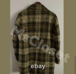 Zara Quilted Long Coat Brown NWT