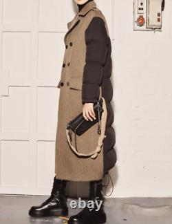 Zara Srpls MXD Pffr 05 Puffer Jacket Down Feather Filling Xs-s M-l Ref 4369/904